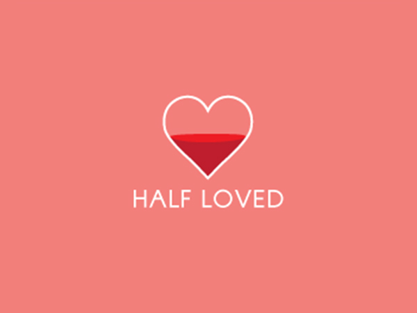 Half Loved Logo
