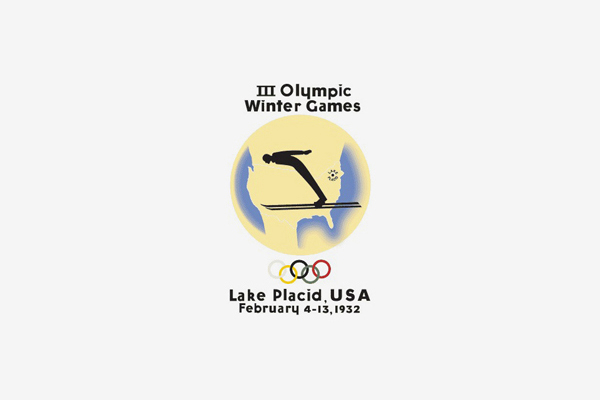1932 Lake Placid Winter Olympic Games Logo