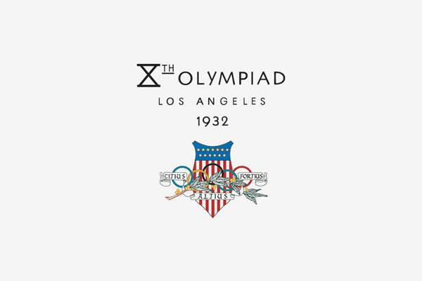 1932 Los Angeles Summer Olympic Games Logo
