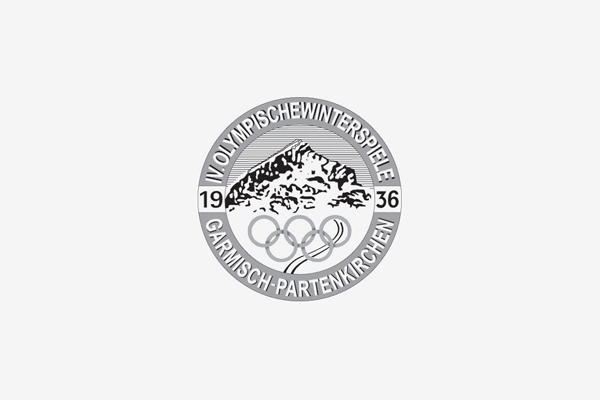 1936 Garmisch Partenkirchen Winter Olympic Games Logo