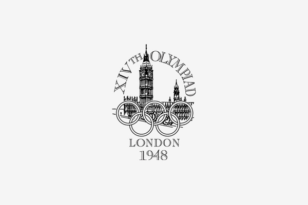 1948 London Summer Olympic Games Logo