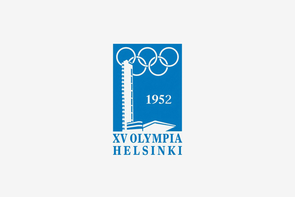 1952 Helsinki Summer Olympic Games Logo
