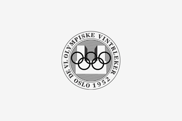 1952 Oslo Winter Olympic Games Logo
