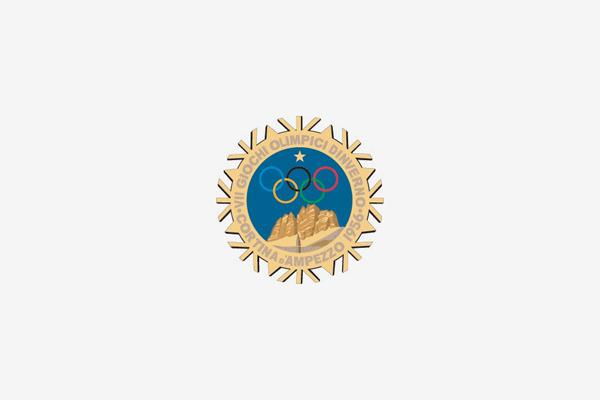1956 Cortina D'ampezzo Winter Olympic Games Logo
