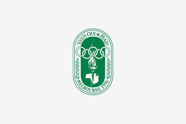 1956 Melbourne Summer Olympic Games Logo