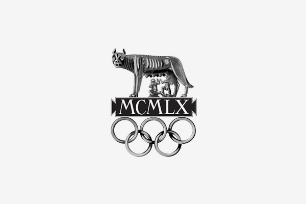 1960 Rome Summer Olympic Games Logo