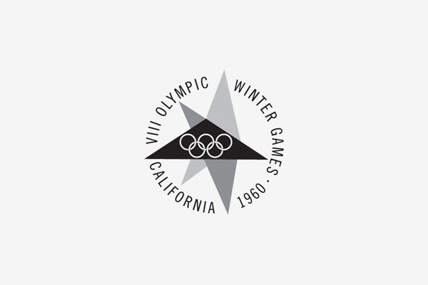 1960 Squaw Valley Winter Olympic Games Logo