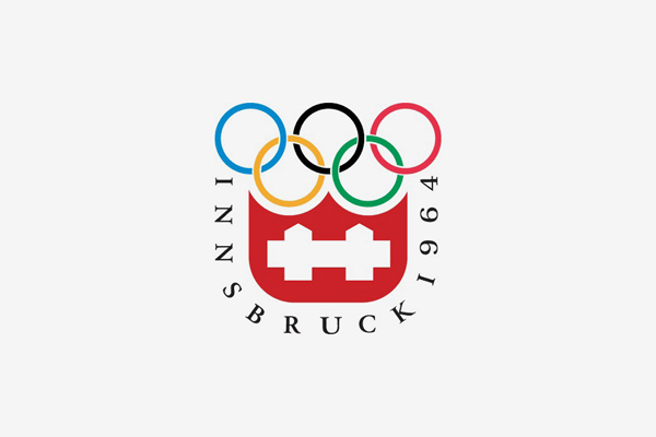 1964 Innsbruck Winter Olympic Games Logo