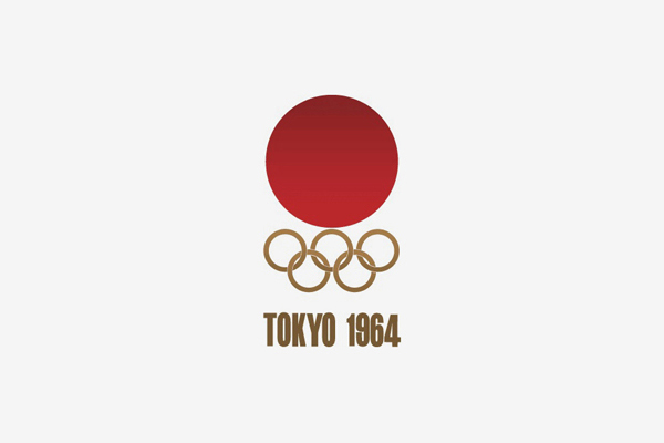 1964 Tokyo Summer Olympic Games Logo