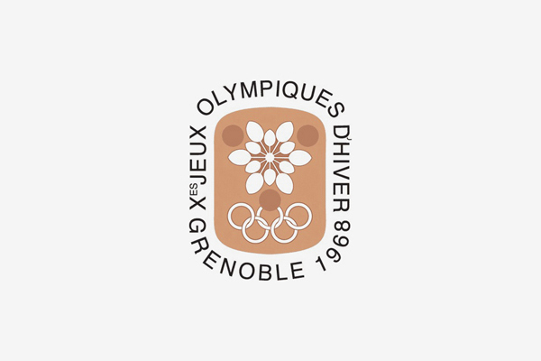 1968 Grenoble Winter Olympic Games Logo