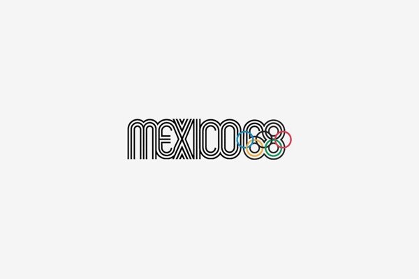 1968 Mexico Summer Olympic Games Logo
