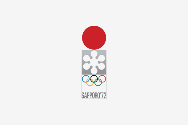 1972 Sapporo Winter Olympic Games Logo