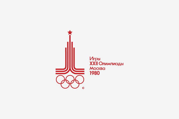 1980 Moscow Summer Olympic Games Logo