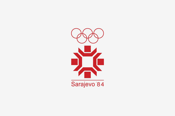 1984 Sarajevo Winter Olympic Games Logo