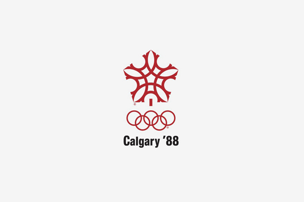 1988 Calgary Winter Olympic Games Logo
