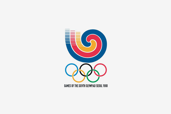 1988 Seoul Summer Olympic Games Logo