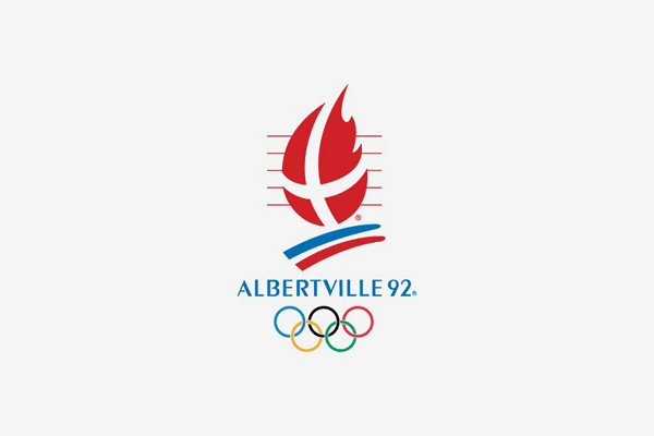 1992 Albertville Winter Olympic Games Logo