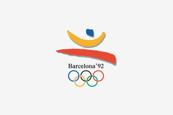 1992 Barcelona Summer Olympic Games Logo
