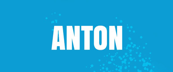 Anton Font Preview