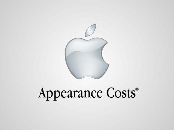 Apple Honest Logo by Viktor Hertz