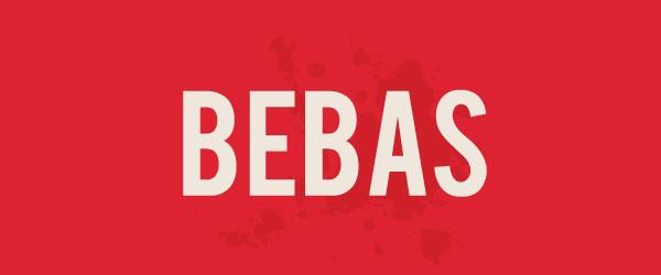 Bebas Font Preview