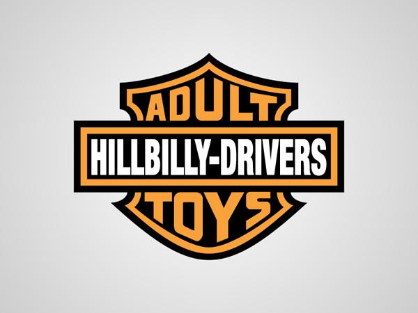 Harley Davidson Honest Logo by Viktor Hertz