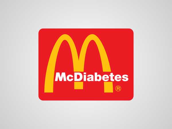 McDonalds Honest Logo by Viktor Hertz