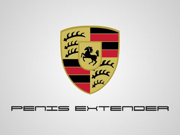 Porsche Honest Logo by Viktor Hertz