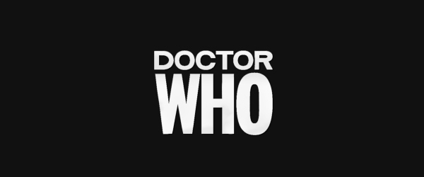 Doctor Who Logo 1963 to 1967