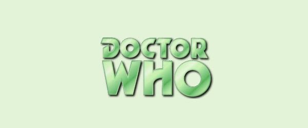 Doctor Who Logo 1970 to 1973
