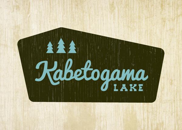 Kabetogama Lake Logo