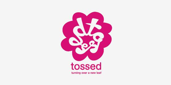 Tossed Brand Identity Design