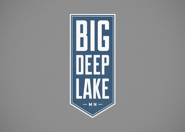 Big Deep Lake Logo