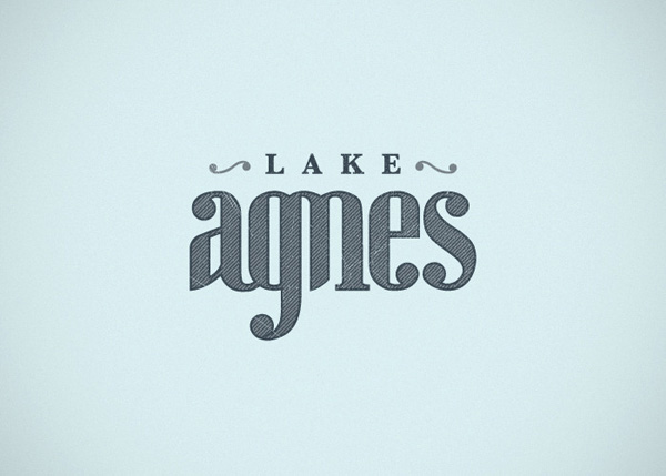 Lake Agnes Logo