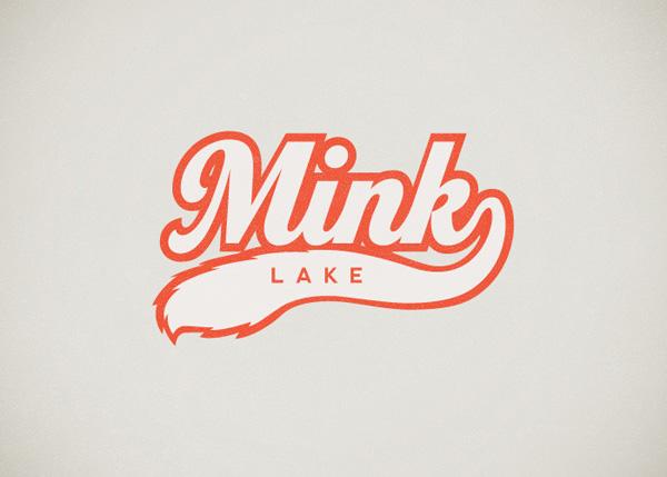 Mink Lake Logo