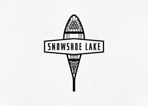 Snowshoe Lake Logo