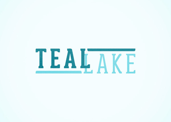 Teal Lake Logo