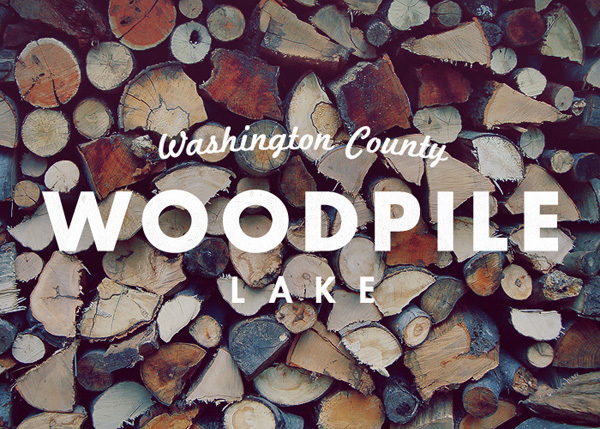 Woodpile Lake Logo