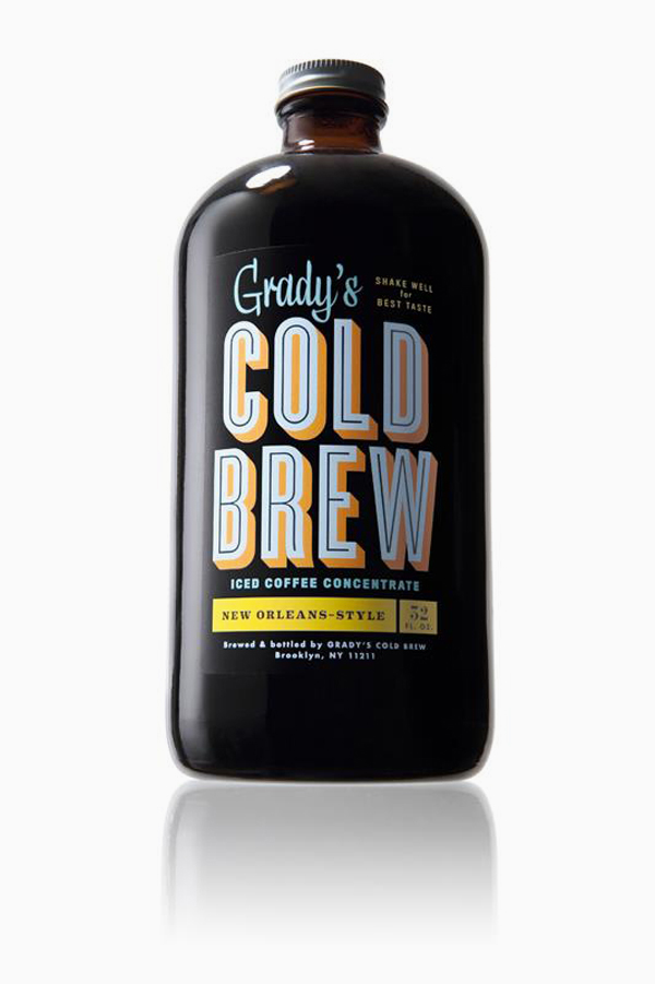 Grady's Cold Brew Iced Coffee Branding & Packaging