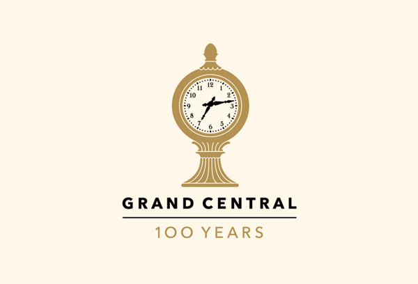 New York Grand Central Terminal 100 Years Logo