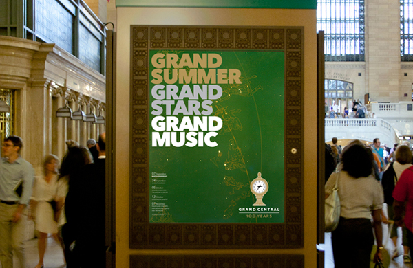 Grand Central 100 Years New Logo