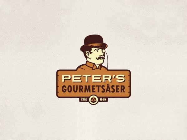 Peter's Gourmetsaser Logo