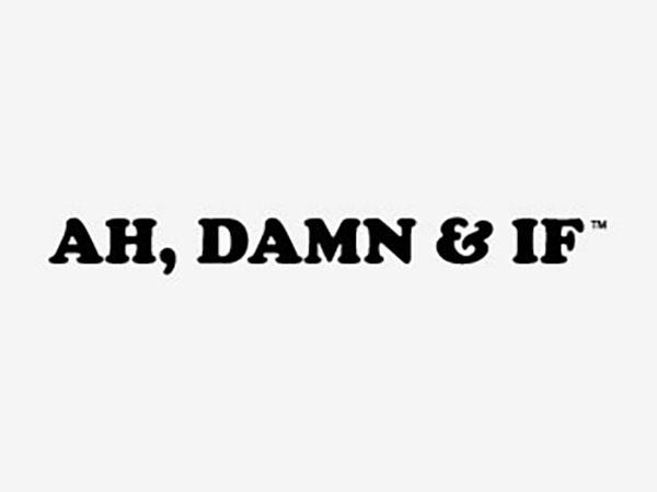 Ah, Damn & If Logo