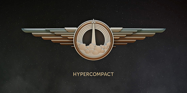 Hypercompact Animated Logo by Ginzburg and Skidanov