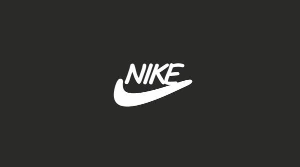 Nike Comic Sans Logo