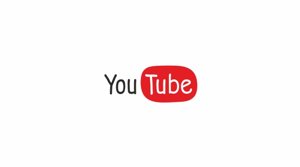 YouTube Comic Sans Logo