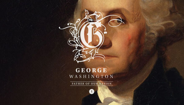 First President George Washington 1732-1799