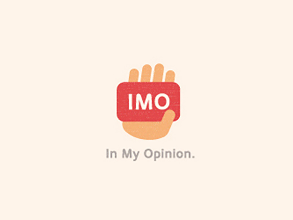 In My Opinion Logo