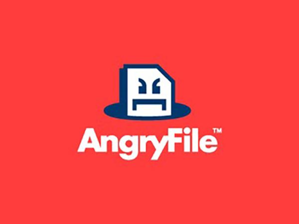 Angry File Logo