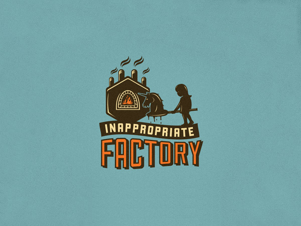 Inappropriate Factory Logo